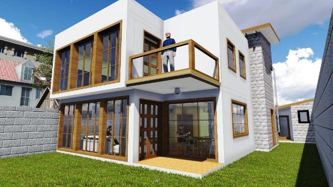 Maisonette In Utawala Architecture Kenya Design Workshop